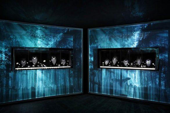"""卡地亚全新Cartier Magicien高级珠宝展——""""自然魔法""""主题展区"""