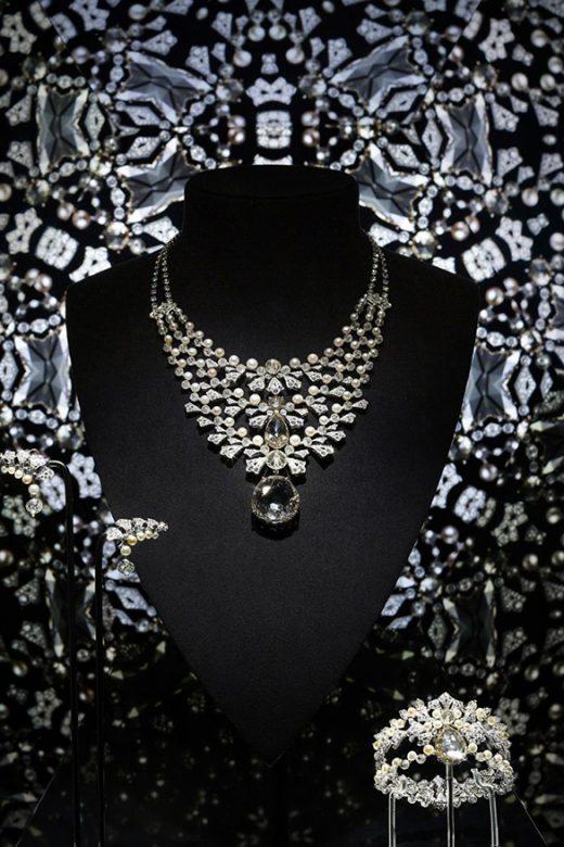 Cartier Magicien系列高级珠宝Magie Blanche项链